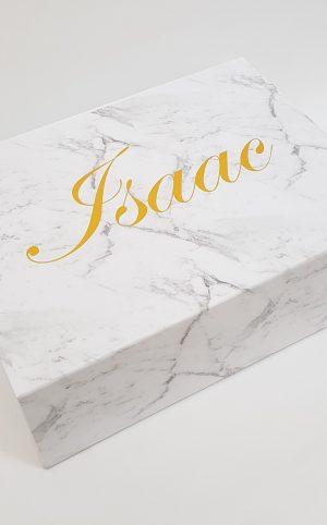 christening-baptism-keepsake box-marble-foil