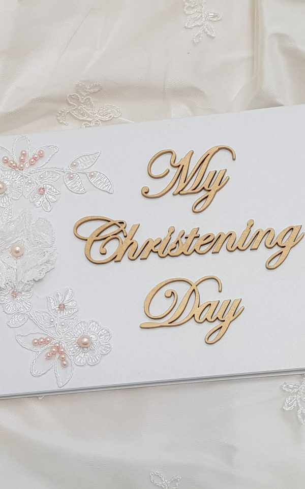 My Christening Day Guest book