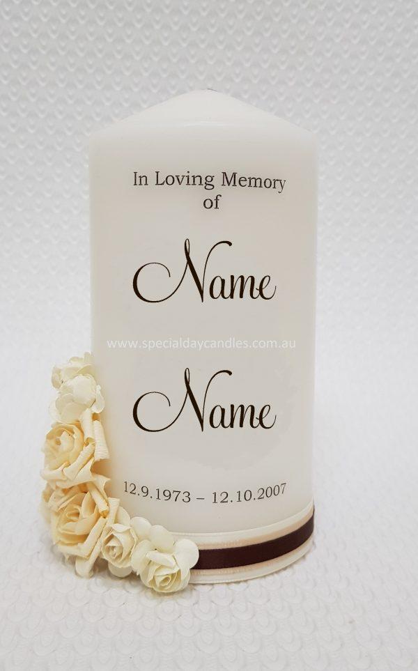 memorial-funeral-personalised candle-N2F11F6