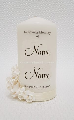 memorial-funeral-personalised candle-N2F11F6
