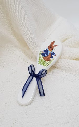 baptism-christening-hair-brush-rabbit-hb24