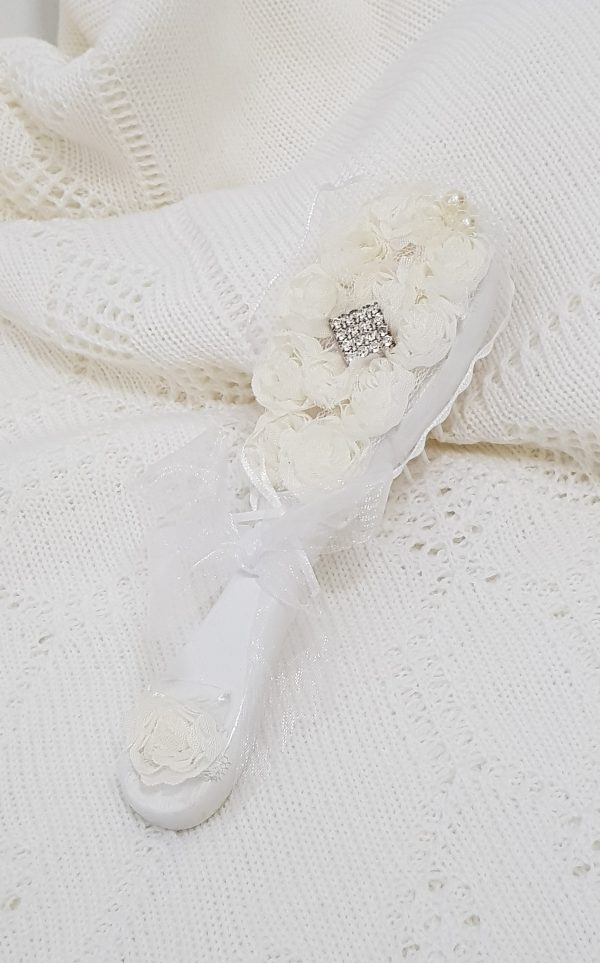 christening-baptism-hair-brush-2D-flower-ivory-hb26