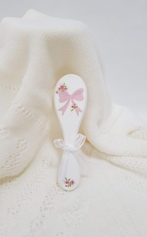 christening-baptism-hair-brush-bow-hb17