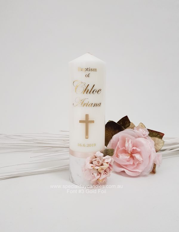 christening-baptism-naming-day-personalised-candle-gold-foil-n45F3&F6