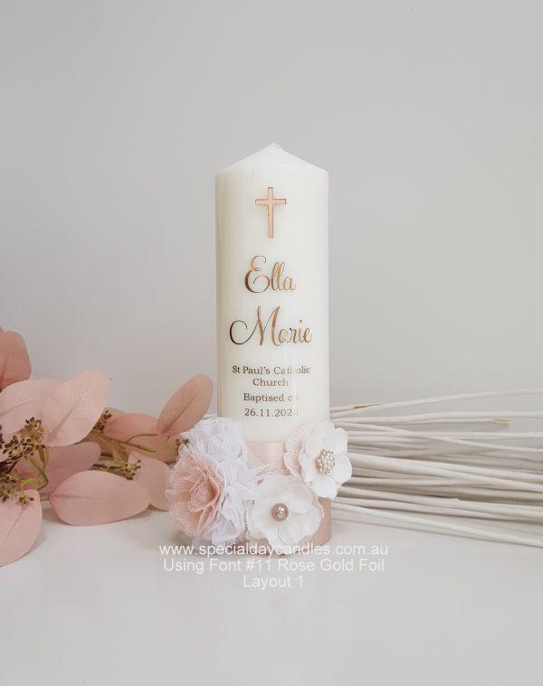 christening-baptism-namingday-candle-girl-N38AF11F6L1rose gold foil