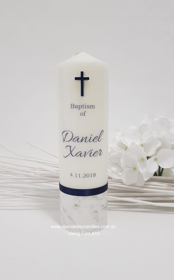 christening-baptism-namingday-personalised-candle-boy-N44F13F6thick-navy-cross