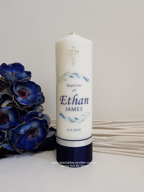 christening-baptism-naming-day-personalised-pillar-candle-N48AF2silver-cross