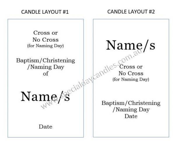 candle layout 1 & 2
