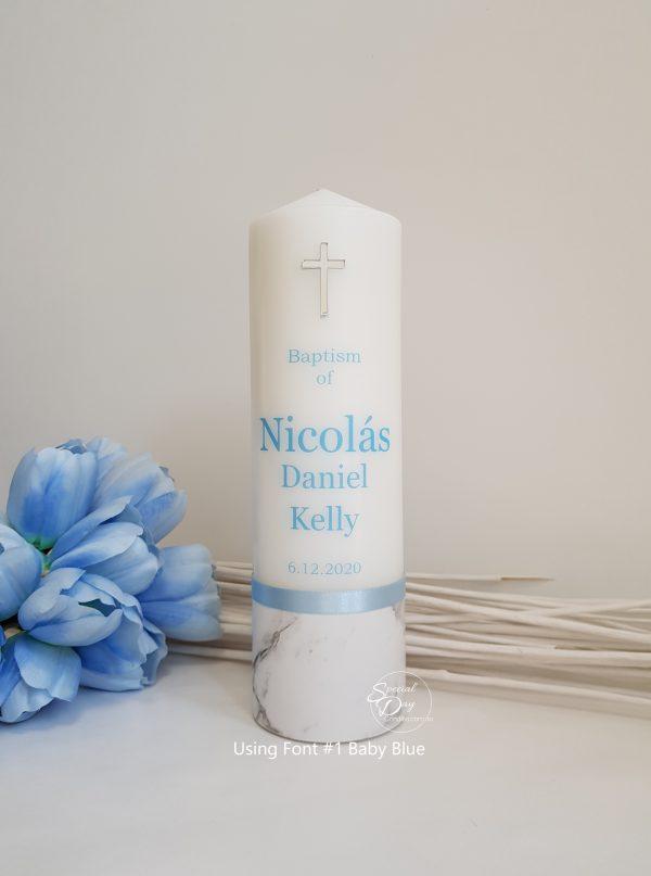 christening-baptism-namingday-personalised-candle-boy-marble-N44AF1